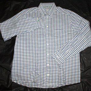 ETON Contemporary Mens Long Sleeve Button Down Shi
